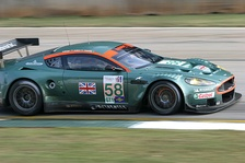 A DBR9 running in the 2005 Petit Le Mans at Road Atlanta.