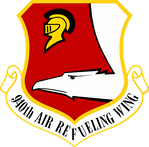Emblen of the 940th Air Refueling Wing.