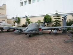 A-37 on display at the military Museum, Bogota