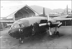 AC-119G Shadow gunship Serial 53-3178 17th Special Operations Squadron at Nha Trang