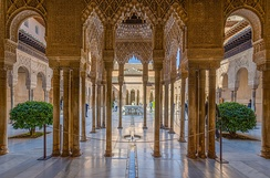 Alhambra. Granada was the last Taifa in the Peninsula.