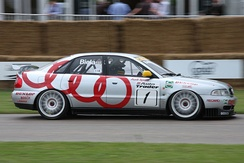 Frank Biela won the 1996 British Touring Car Championship driving an A4