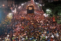 Carnival circuit of the city of Salvador.