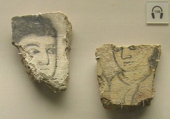 9th-century harem wall painting fragments found in Samarra