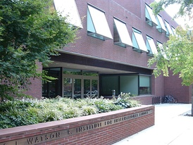 The Watson Institute for International and Public Affairs, built 2000-2002, designed by Rafael Viñoly