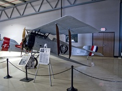 Nungesser's Hanriot HD-1 on display at Planes of Fame air museum in Chino, California.