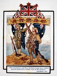 World War I-era depiction of the Union flag