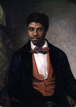 "Portrait of Dred Scott, plaintiff in the infamous Dred Scott v. Sandford case at the Supreme Court of the United States, commissioned by a ""group of Negro citizens"" and presented to the Missouri Historical Society, St. Louis, in 1888"
