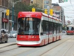 The Toronto Transit Commission operates largest and busiest streetcar system in North America.