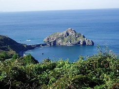 The coast of the Bay of Biscay – San Juan de Gaztelugatxe (Biscay)(Basque Country)
