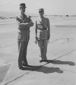 Generals de Gaulle and Catroux, North Africa
