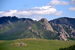 Gorkhi-Terelj National Park is a popular picnic and camping ground all year round.