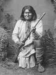 Geronimo, 1887, prominent leader of the Chiricahua Apache
