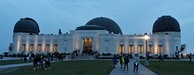 Griffith Observatory during dawn