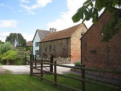 Holiday cottages in converted farm buildings, Gloucestershire, England