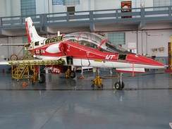 IJT prototype in its hangar