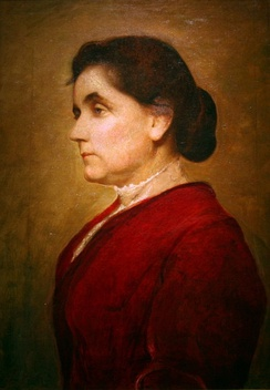 Jane Addams, 1906, by George de Forest Brush (1855-1941)/National Portrait Gallery, Smithsonian Institution