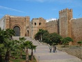 Kasbah of the Udayas in Rabat, Morocco was founded during the Almohad dynasty.