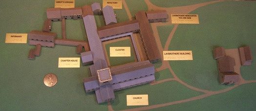 A model of the Abbey