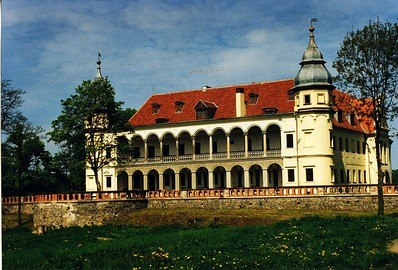 Krobielowice (German: Krieblowitz), Lower Silesia (owned by the Blücher family 1814-1945)