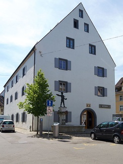 The cantonal museum of the Canton of Basel-Landschaft in the heart of the old town of Liestal