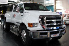 Ford F-650, a product of Blue Diamond Truck