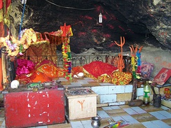 Shri Hinglaj Mata temple shakti peetha is the largest Hindu pilgrimage centre in Pakistan. The annual Hinglaj Yathra is attended by more than 250,000 people.[564]