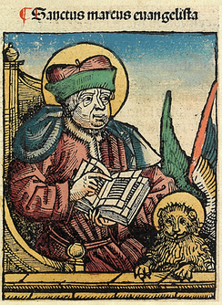 St Mark in the Nuremberg Chronicle