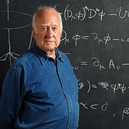 Theorist of the Higgs boson Peter Higgs (BSc '50, MSc '52, PhD '54) was awarded the 2013 Nobel Prize in Physics