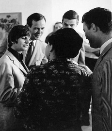 Starr (far left) in 1965
