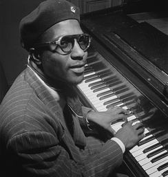 Thelonious Monk in 1947.