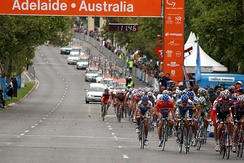 The Tour Down Under is the first event of the UCI World Tour calendar.