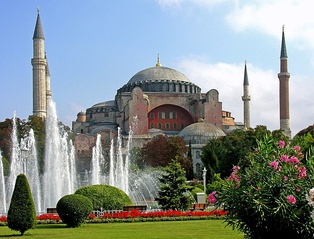 Hagia Sophia built in AD 537, during the reign of Justinian