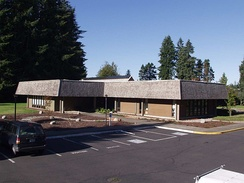 The U.S. Forest Service R&D lab in Olympia, Washington