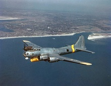 Under project Cadillac II, an AN/APS-20 radar was fitted onto the B-17G, making the PB-1W one of the first AWACS.