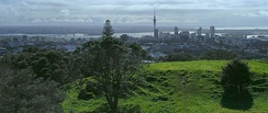 View from the top of Maungawhau / Mount Eden