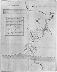 Washington's map, accompanying his Journal to the Ohio (1753–1754)