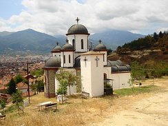 Orthodox church of Forty martyrs of Sebaste in Bitola, North Macedonia.