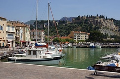 Cassis, typical village of the region, popular vacation destination
