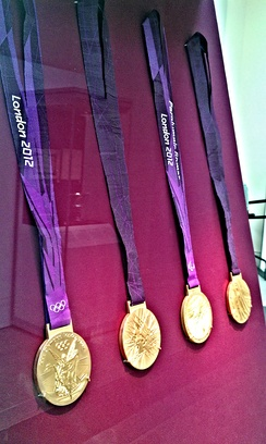 Medals of London 2012 Olympics