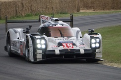 Porsche won the Manufacturers Championship with its 919 Hybrid entries