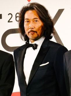 Yakusho Koji at the 26th Tokyo International Film Festival