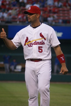 Albert Pujols won the closest NL batting race in 2003.