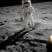 Astronaut Buzz Aldrin had a personal Communion service when he first arrived on the surface of the Moon.
