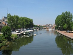 The River Somme from the Boulevard de Beauvillé
