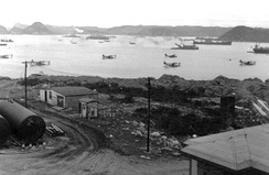 U.S. ships and aircraft in Little Placentia Sound, 1942