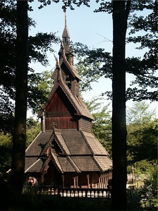 The Fantoft stave church
