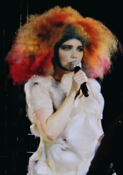 Björk – the winner in the contemporary category in 2010