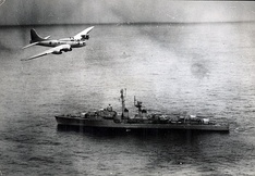 B-17 Flying Fortress the Brazilian Air Force in maritime patrol mission during Lobster War, 1963.