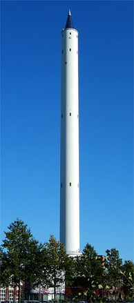 The Fallturm (Drop Tower) of the University of Bremen